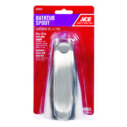 Ace n/a 1-Handle Brushed Nickel Tub Spout