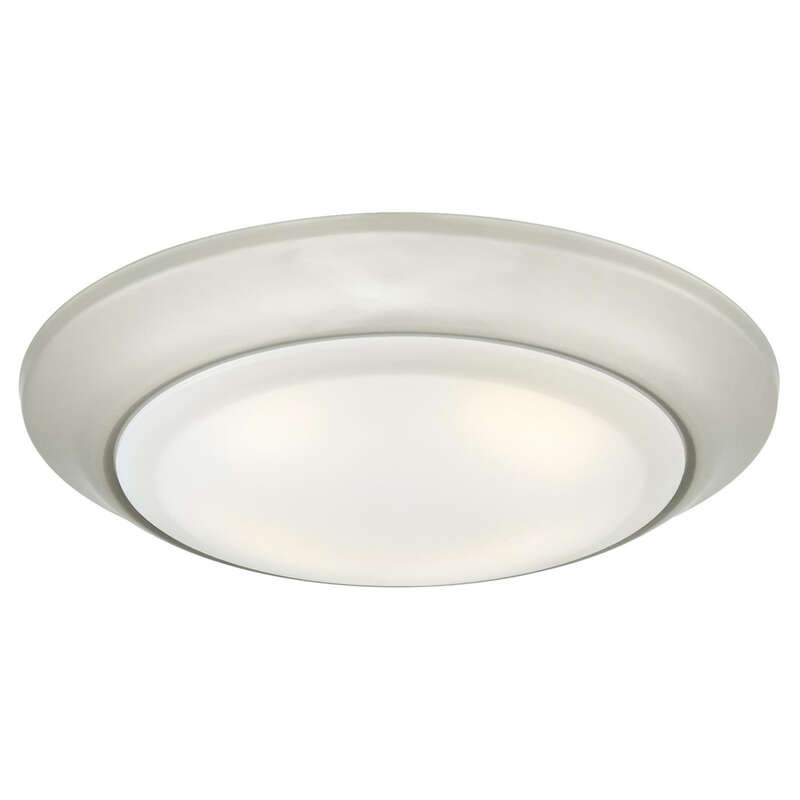 Westinghouse  Brushed Nickel  Metallic  5.5 in. W Steel  LED  Recessed Light Fixture  15 watts