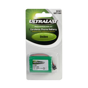 Ultralast  NiMH  AAA  3.6 volt Cordless Phone Battery  BATT-909  1 pk