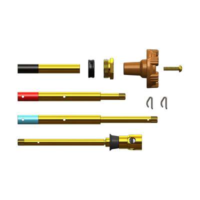 Woodford Brass Adjustable Rod with Pressure Relief Valve