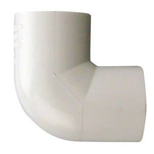 Lasco  Pro  Schedule 40  1/2 in. Slip   x 1/2 in. Dia. Slip  PVC  90 Degree Elbow