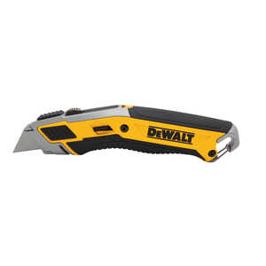 DeWalt  Premium  7 in. Retractable  Utility Knife  Yellow  1 pc.