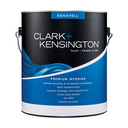 Clark+Kensington Eggshell Tint Base Neutral Base Premium Paint Interior 1 gal.