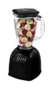Oster  Simple Blend  Black  Metal  Blender  6 cups 10 speed