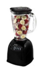 Oster  Simple Blend  Black  Blender  10 speed 6 cups Metal