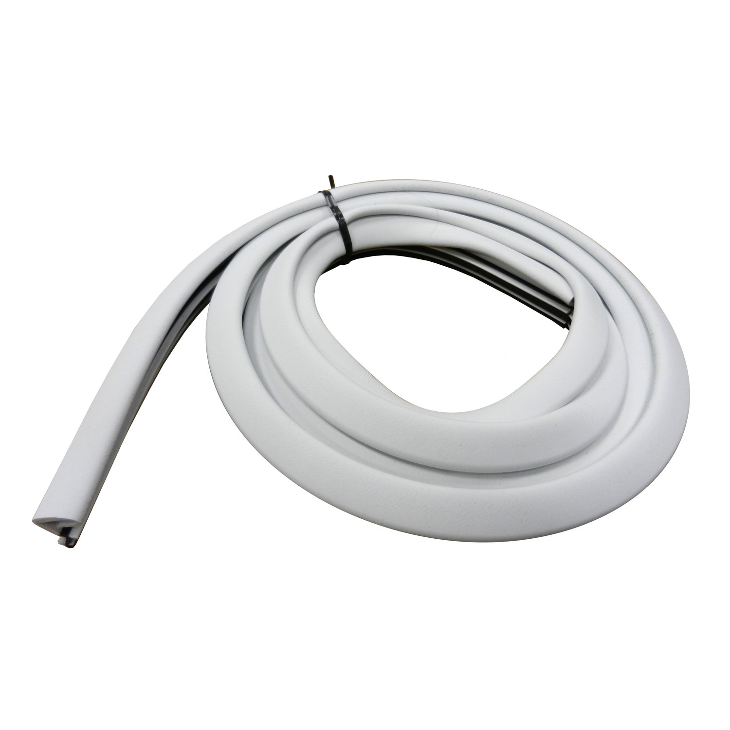 M-D Building Products  White  Rubber  Weather Stripping  For Door 7 ft. L x 3/4 in.