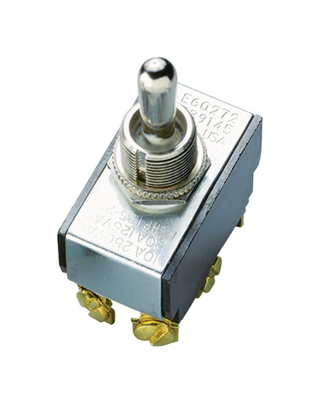 Gardner Bender  20 amps Silver  1 pk Toggle  Switch