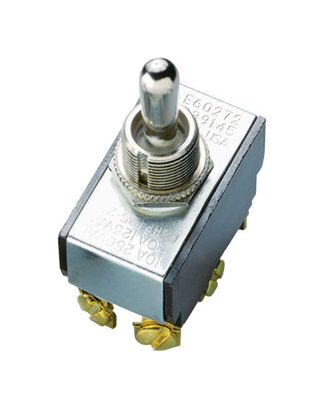 Gardner Bender  Toggle  Switch  Silver  1 pk