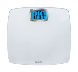 Taylor  440 lb. Digital  Bathroom Scale  White
