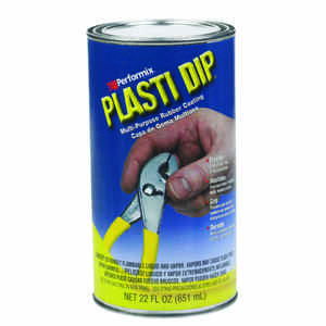 Plasti Dip  Flat/Matte  Black  Multi-Purpose Rubber Coating  22 oz