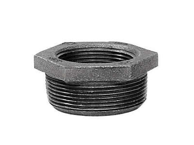 BK Products  1-1/2 in. MPT   x 1-1/4 in. Dia. FPT  Galvanized  Malleable Iron  Hex Bushing