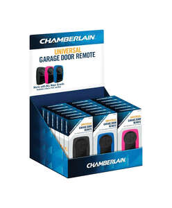 Chamberlain  2 Door 3 Door  Garage Door Opener Remote  For All Major Brands Manufactured After 1993