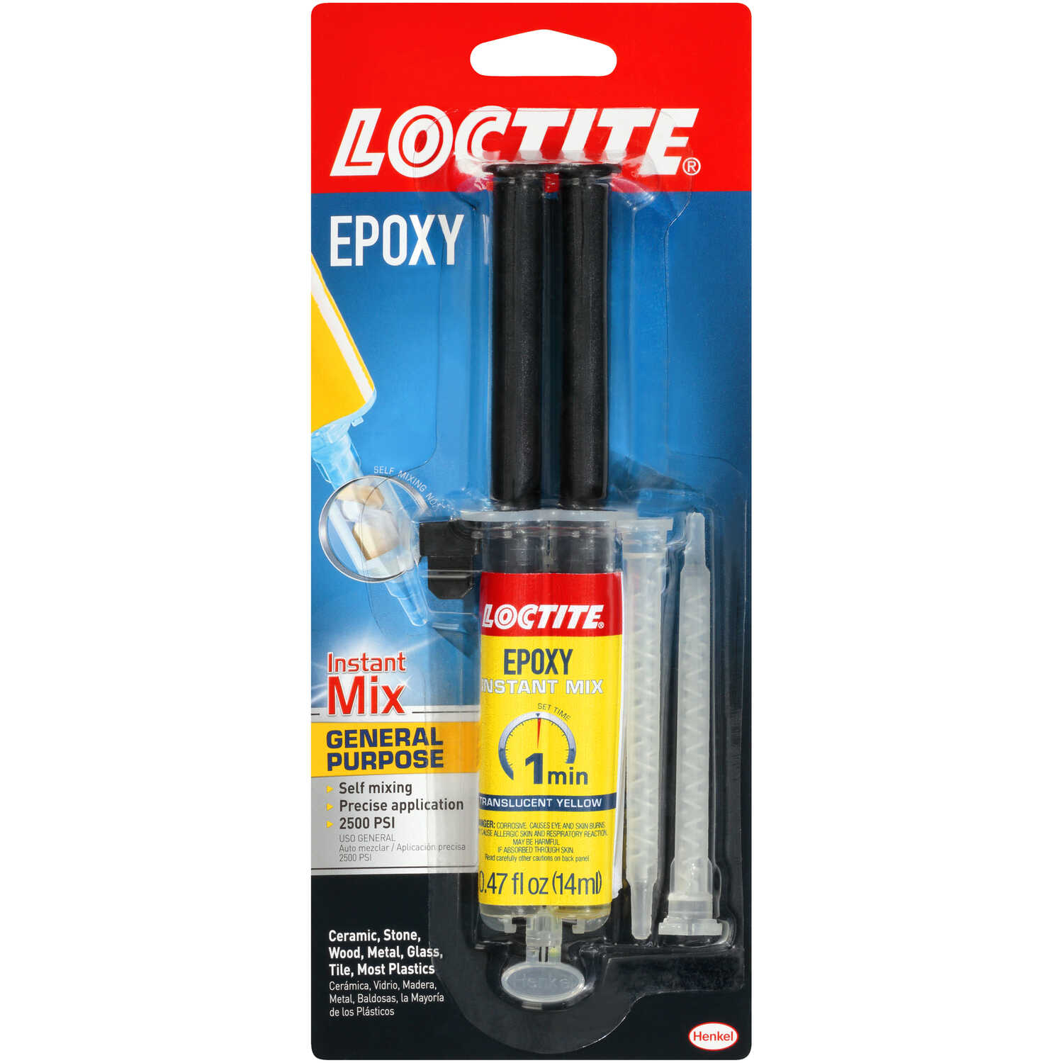 Loctite  Instant Mix  High Strength  Liquid  Epoxy  0.47 oz.