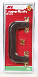 Ace Brown Brass 1 pk Luggage Handle 6 in.