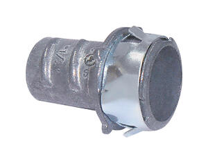 Sigma Electric ProConnex  Snap Lock  1/2 in. Dia. Die-Cast Zinc  Screw-In Connector  For FMC 25 pk