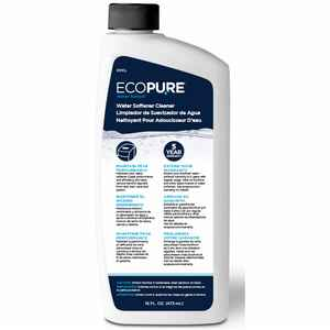 EcoPure  Water Solved  Water Softener Cleaner  Liquid  16 oz.