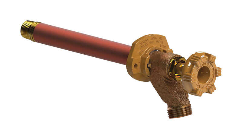 Woodford  Model 14  Brass  Freezeless Wall Faucet