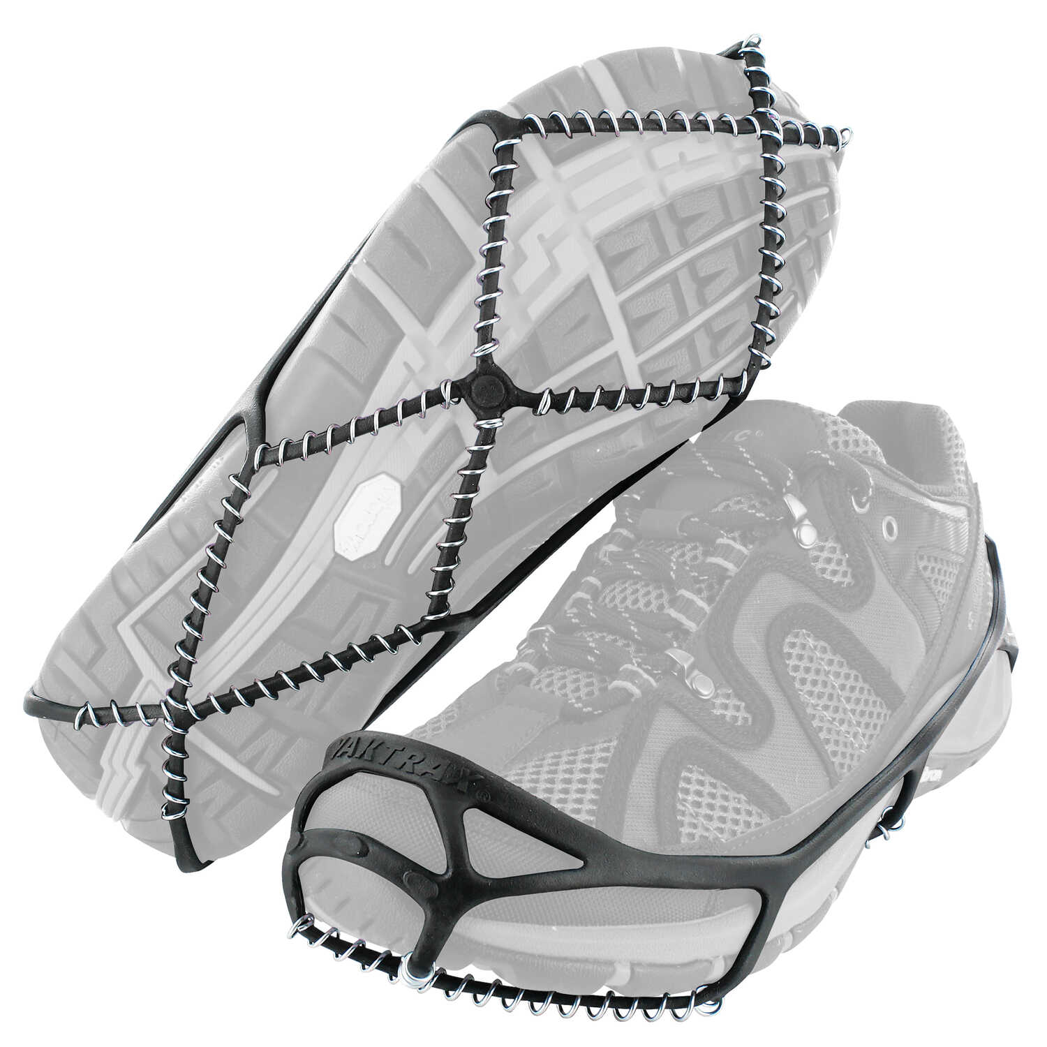 Yaktrax  WALK  Unisex  Poly Elastomer Blend/Steel  Traction Device  W 2.5-6/M 1-4.5  Waterproof 1 pa