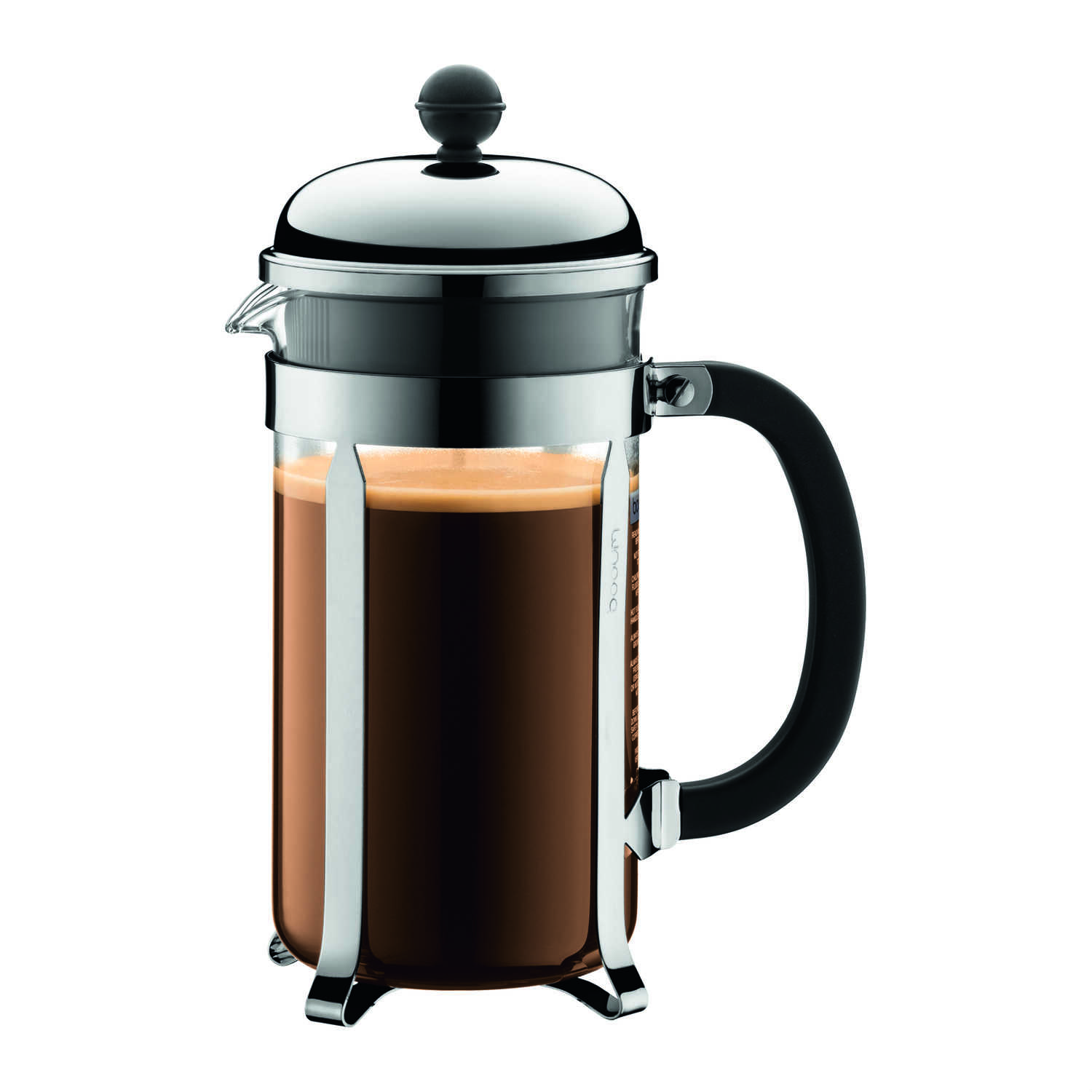 Bodum  Chambord  34 oz. Silver  French Press