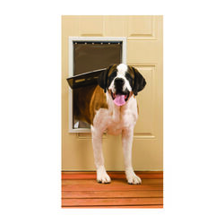 Petsafe  27.125 in. H x 16.25 in. W Aluminum  Pet Door