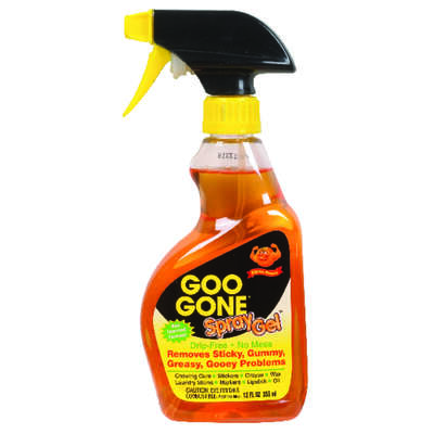 Goo Gone Adhesive and Grease Remover 12 oz.