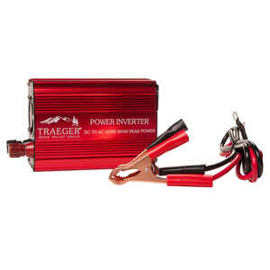 Traeger  Steel/Plastic  Power Inverter  5.04 in. W x 6 in. L x 2.84 in. H