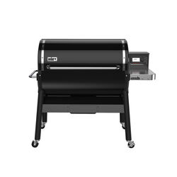 Weber  SmokeFire EX6 2ND GEN  Wood Pellet  Grill  Black