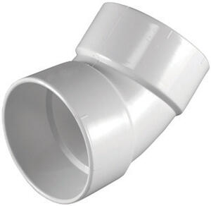 Charlotte Pipe  Schedule 30  PVC  Elbow