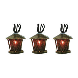 Sienna  Lantern Light Set  7.5 in.