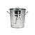 Twine  Country Home  Silver  Metal  Ice Bucket