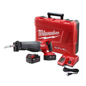 Milwaukee  M18 FUEL SAWZALL  1-1/8 in. Cordless  Brushless Reciprocating Saw  Kit 18 volt 3000 spm