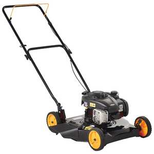 Poulan Pro  20 in. W 125 cc Manual-Push  Lawn Mower
