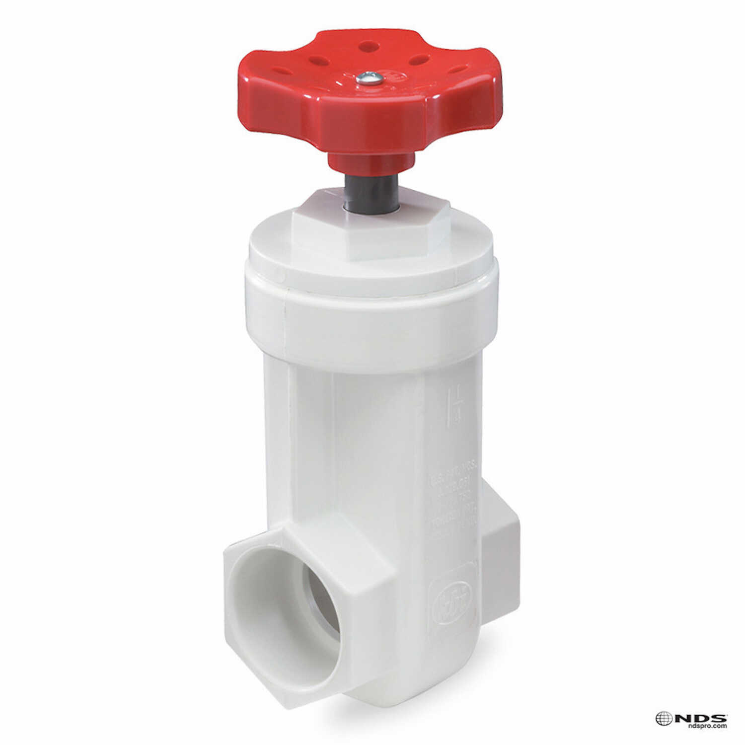 NDS  3/4   PVC  Gate Valve  Lead-Free Slip-Joint