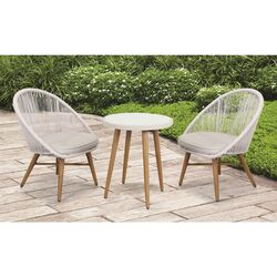 Linon Home Decor  Monroe  3 pc. Aluminum  Bistro Set