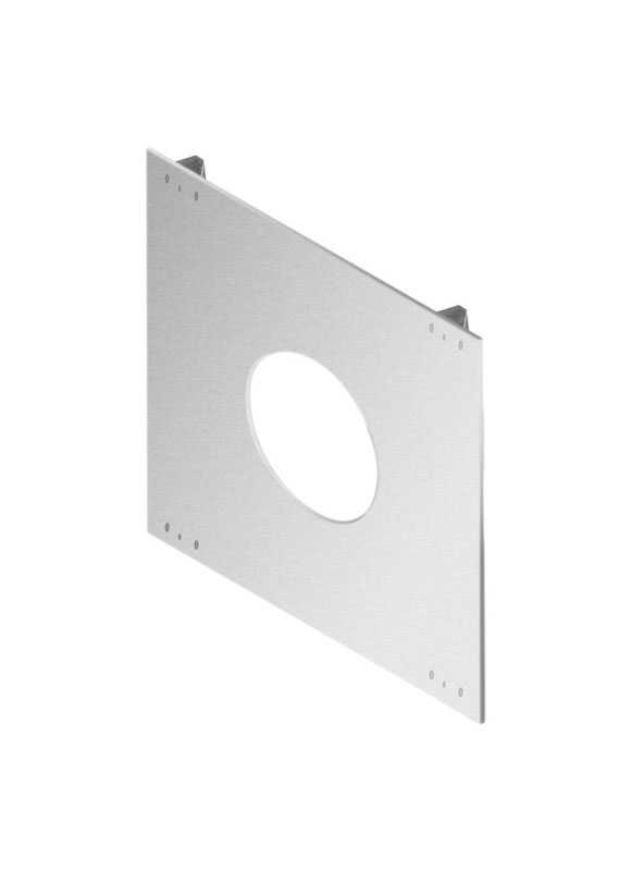 DuraVent  3/16 in. H x 3 in. W x 3 in. L Square  Pelvent House Shield  Galvanized Steel  Silver