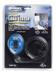 Reliance Controls  Ammeter/Wattmeter  Digital  Appliance Load Tester  1 each