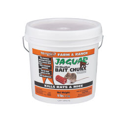 Motomco  Jaguar  Bait  Blocks  For Mice and Rats 9 lb.