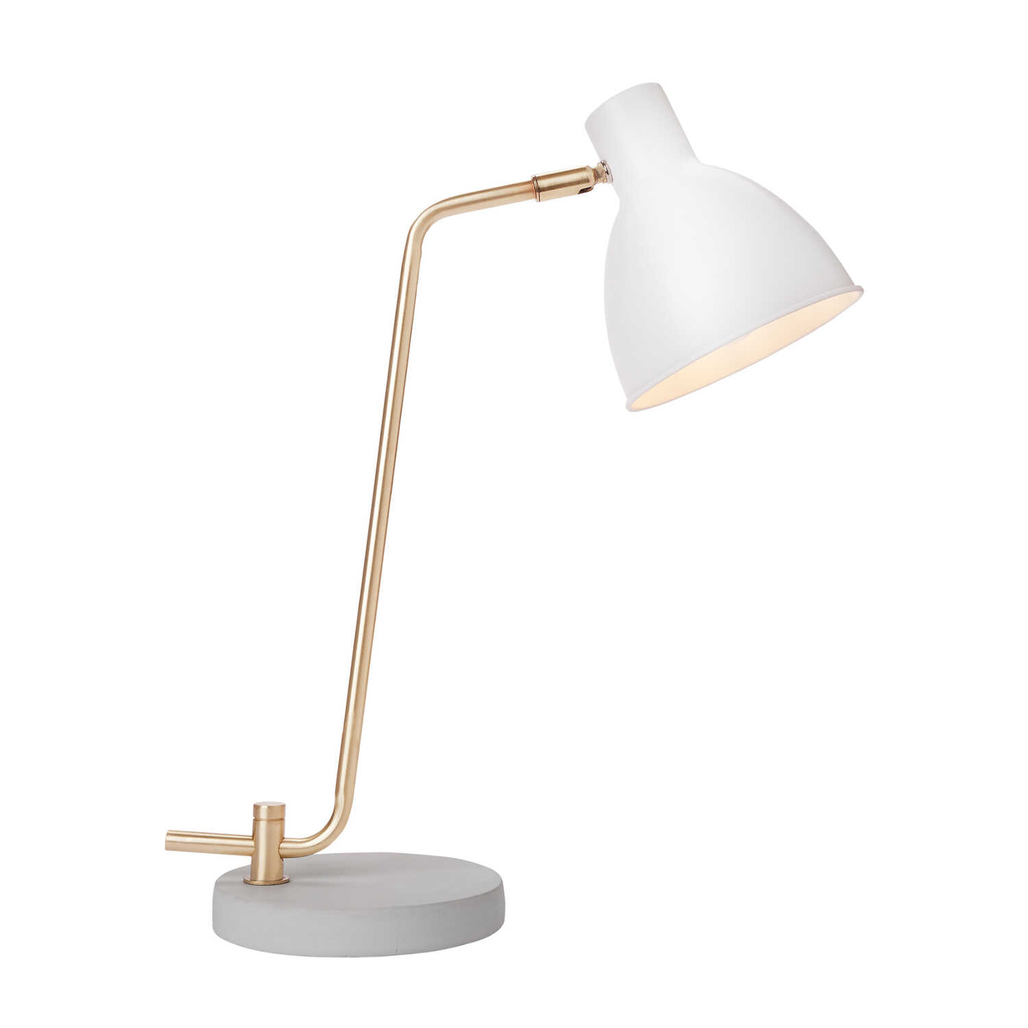 Newhouse  The Amelia  20.5 in. White  Table Lamp