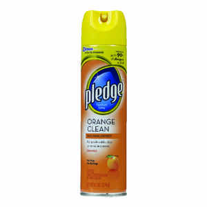 Pledge  Orange Scent Furniture Polish  9.7 oz. Spray