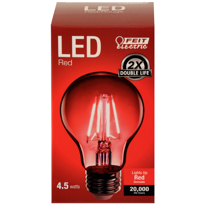 E12 Red Incandescent Bulb 2 x