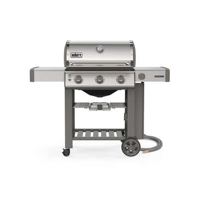 Weber  Genesis II S-310  3 burners Natural Gas  Grill  Stainless Steel