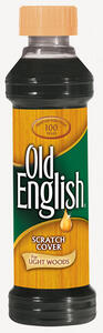 Old English  No Scent Scratch Cover Polish Light Wood  8 oz. Liquid