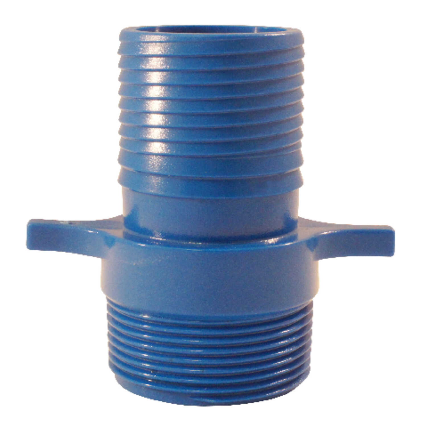Blue Twisters  1/2 in. Insert   x 1/2 in. Dia. MPT  Polypropylene  Male Adapter