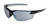 Edge Eyewear  Zorge G2  Safety Glasses  Silver Mirror Lens Black Frame 1 pc.