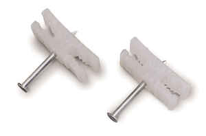 Gardner Bender  0.19 in. W Plastic  Insulated Cable Staple  25 pk