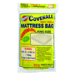 Warp's  King Size  25  Storage Bag  Yellow