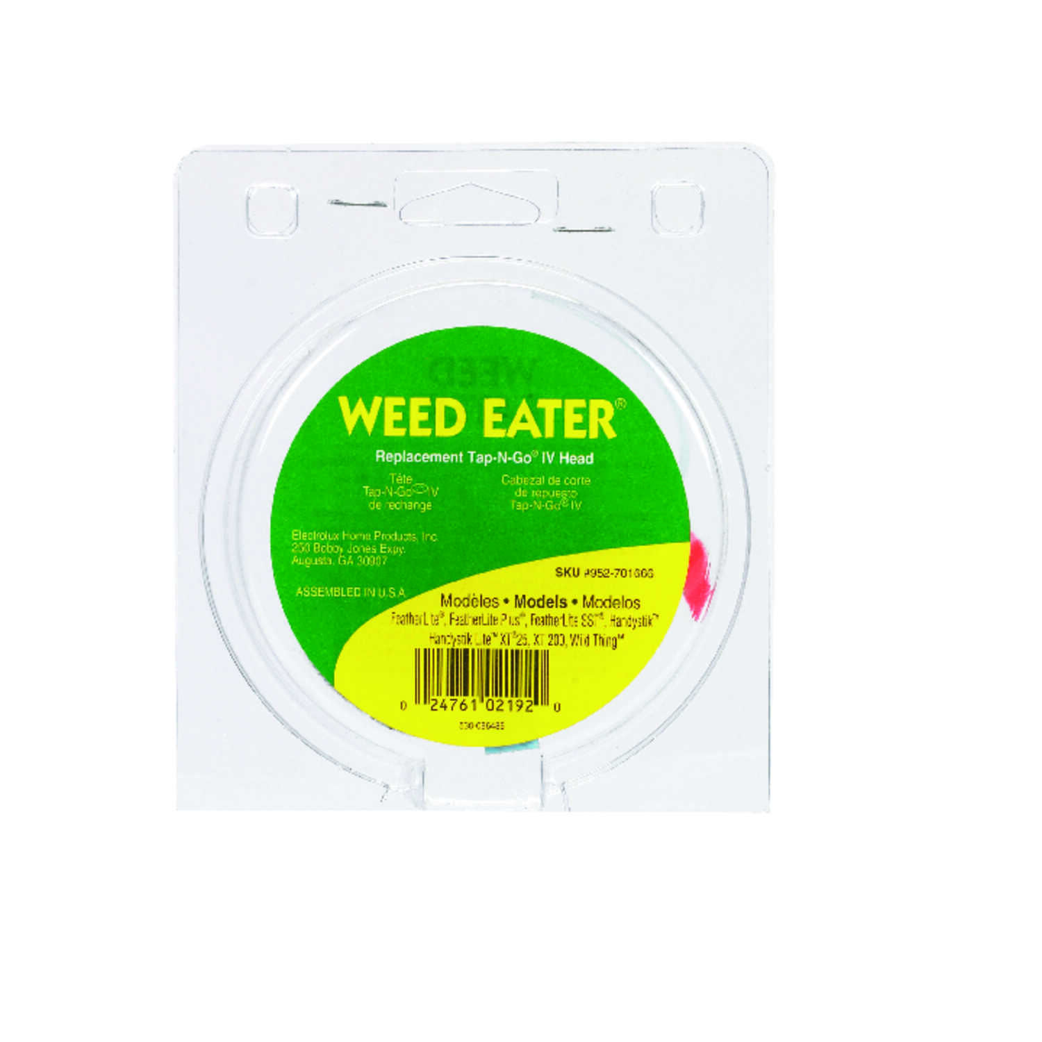Weed Eater  Tap-N-Go IV  Trimmer Head