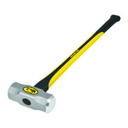 Collins  10 lb. Steel  Sledge Hammer  35 in. Fiberglass Handle