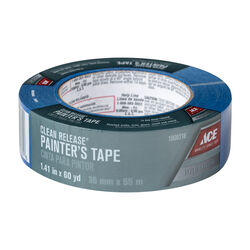 Ace  Clean Release  1.41 in. W x 60 yd. L Blue  Medium Strength  Painter's Tape  1 pk