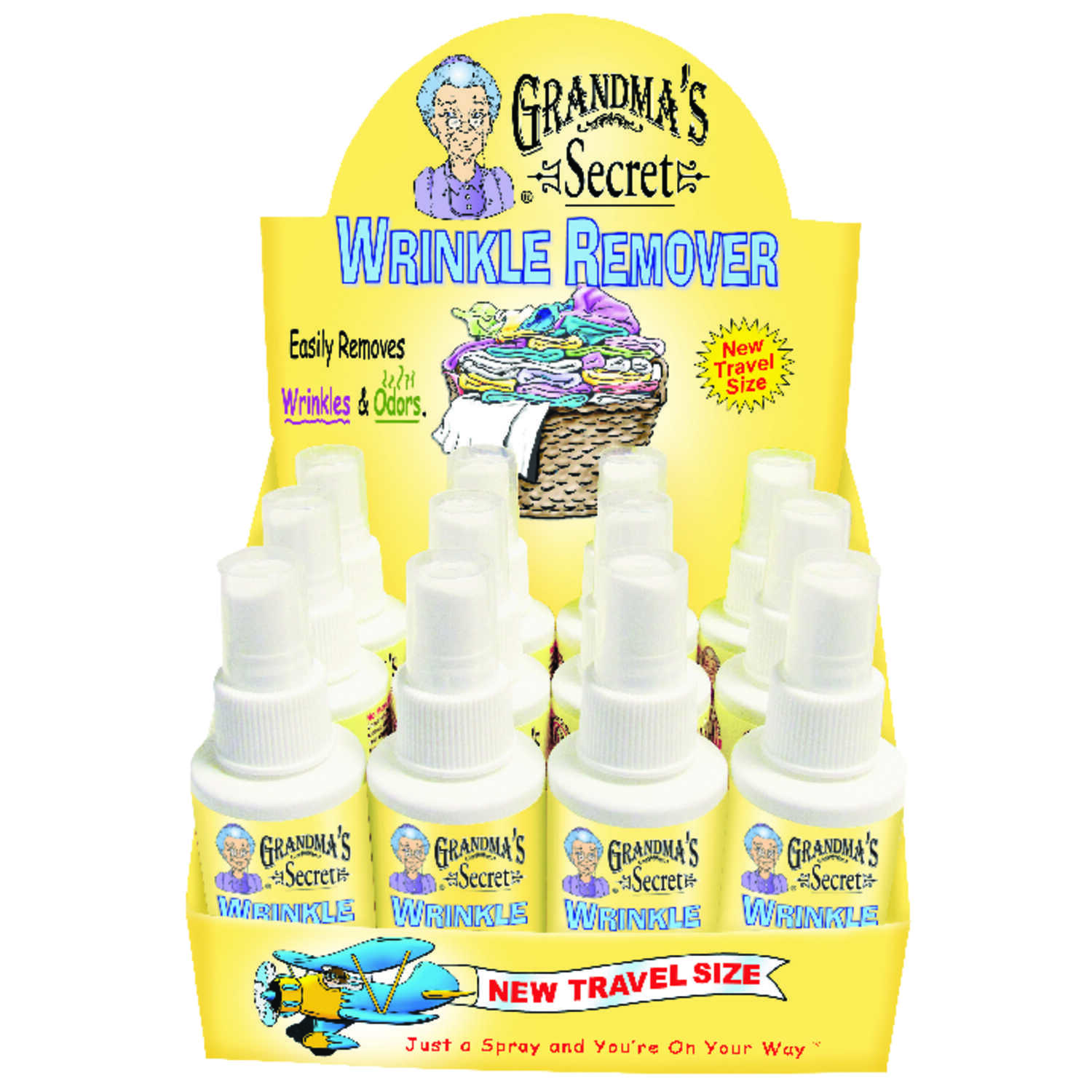 Grandma's Secret  Fresh Scent Wrinkle Releaser  Liquid  3 oz.